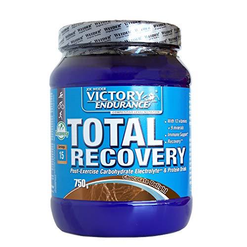 Victory Endurance Total Recovery. Maximiza la recuperación después del entrenamiento. Enriquecido con electrolitos y vitaminas. Sabor Chocolate (750 g)
