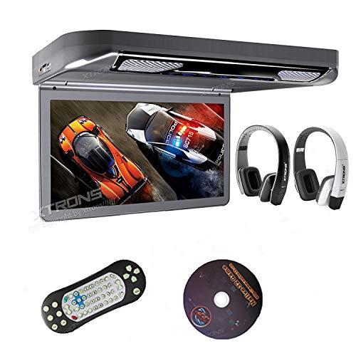 XTRONS Grey 13.3' HD 1080P Video Car MPV Roof...