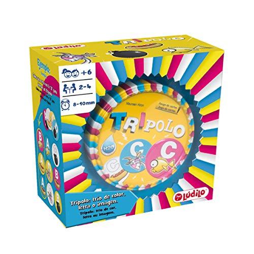 Lúdilo Tripolo, educativo, desarrollo de la concentración, juego de mesa para niños...