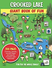 Crooked Lake Giant Book of Fun: Coloring, Games, Journal Pages, and special Crooked Lake memories!
