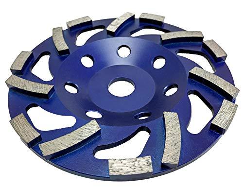 Werkmax - Disco de diamante para lijadora (diámetro 150 x 19,0 mm, apto para Hilti DG 150)