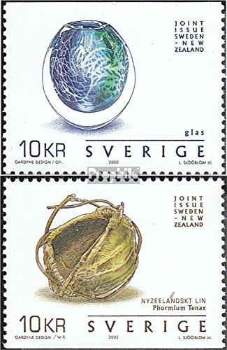 Sverige Mi.-nummer: 2293-2294 (komplett. utgåva) 2002 hantverk (frimärken för samlare)