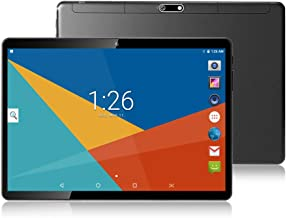 10 Inch Octa Core Tablet,4GB RAM,64GB Disk,1280X800 IPS Screen,8.0MP,Dual Sim,Wifi,GPS,Tablet For Kids,Android 7.0(Black)