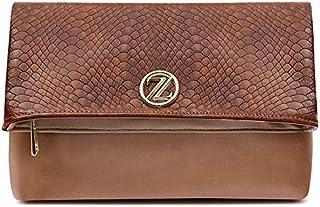 حقيبة طويلة تمر بالجسم دايزي للنساء من زينيف لندن - بلون بني