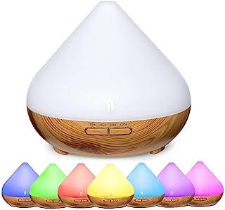 comprar comparacion TaoTronics 300ml Difusor de Aromas,Difusor Aromaterapia con Luz Nocturna de 7 Colores, Difusor de Aceites Esenciales, Temp...