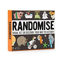 Randomise lets each player choose between acting, drawing or describing to get across the random identity on their cards. Hilarious party game for people who want to spend more time laughing with their family and friends. Easy to setup and quick to l...