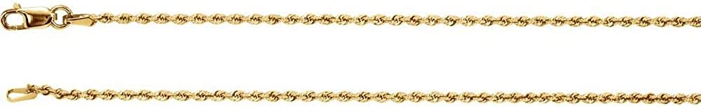 14k Yellow Ranking TOP13 Ranking TOP15 Gold 1.5mm Chain Necklace 24
