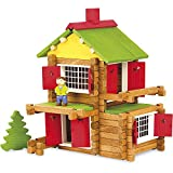 Jeujura - 8018- Jeux de Construction-Coffret Collector 100 Ans - Chalet 135 Pieces