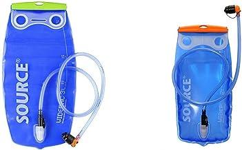 Opt TPU Wasserblase YANNIK Trinksystem 2L mit Beissventil BPA-frei Trinkblase Trinkbeutel Auslaufsicher Antibakteriell Trinkrucksack Reinigungskit