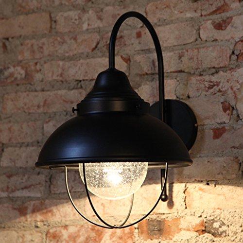 JSJ - lampe de chevet créative de chambre à coucher vent industriel bar bar européen et américain couloir corridor corridor lampes