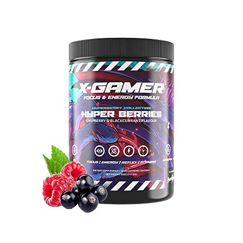 X-Gamer X-Tubz - Booster Pulver - Shake It Yourself - 600g ( 60 servings ) (Hyper Berries)