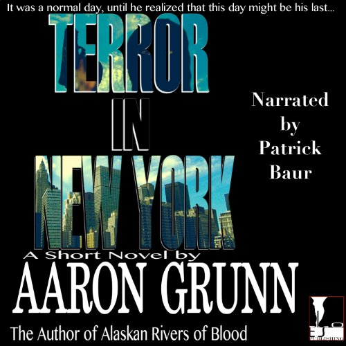 Terror in New York audiobook cover art