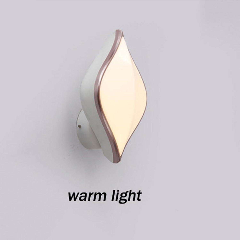 YAYONG LED Wandleuchte Nachttischlampe Schlafzimmer kreativen Balkon Wandleuchte Lichter dekorative Allee Moderne Nachtlicht