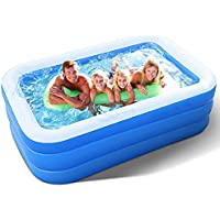 Zen Laboratory Inflatable Pool for Adults, Kids