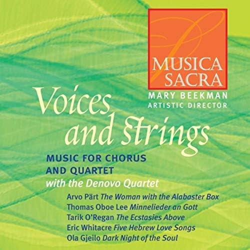 Musica Sacra, Denovo Quartet & Mary Beekman