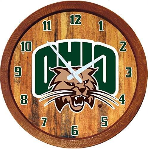 Shop Grimm Ohio Popular standard University Athens Barrel Clock 20