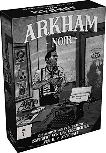 Asmodee Ludonova LUND0001 Arkham Noir - Fall 1: Die Hexenkult-Morde, Kenner-Spiel, Deutsch
