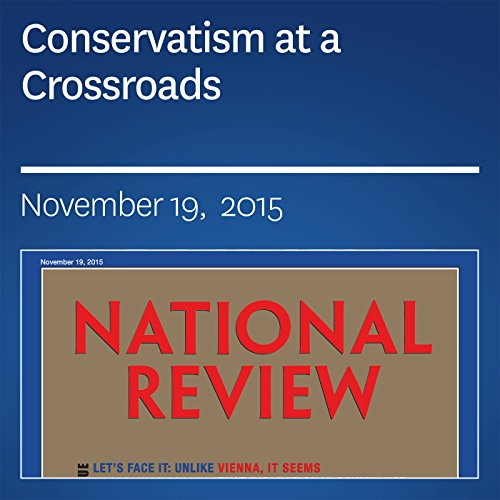Conservatism at a Crossroads audiobook cover art