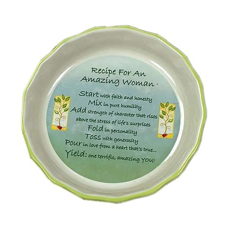 Abbey Gift Amazing Woman Pie Plate