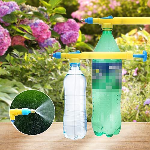 RainBabee Hoomall Wassersprühflasche Pflanze Zerstäuber Gießkanne Topf Luftdruck Tragbarer Blumenkessel für Innenblumen Tragbare Wasserpistole Spielzeug