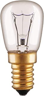 Backofenlampe Glühbirne 40W E14 klar Glühlampe T22 Röhre 300° Doppelwendel