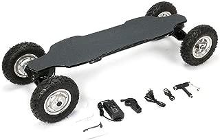ARQANJ- Electric Off-Road Skateboard Cruiser Extreme Sports Longboard Dual-Drive Intelligent Remote Control 1200W Power Four-Wheeled Skateboard 35km /, Battery Life 15-20KM