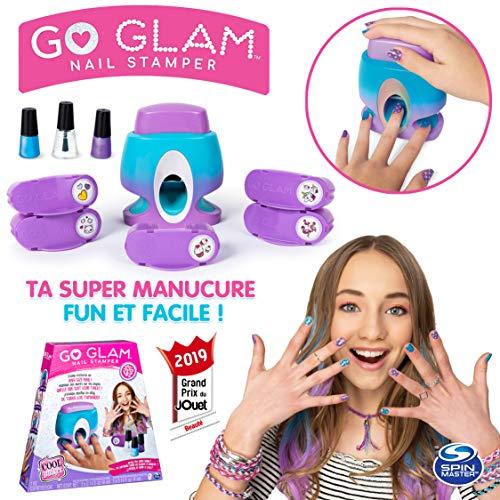 Cool Maker - 6053350 - Jouet Enfant - Loisirs Créatifs - Go Glam Nail Stamper - Machine à Manucure