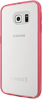 Red/Clear PC and TPU co-Mould case-Samsung GS6