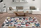 De'Carpet Alfombra Salón Dormitorio Moderna Algodón...