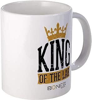 Mesllings - Bones King Of The Lab Mug - Unique Coffee Mug, Coffee Cup, Tea Cup