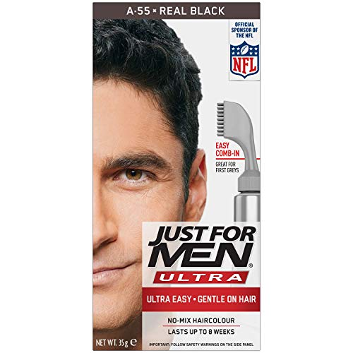 Just for Men Ultra, Hair Colour Dye, A55 –Real Bl