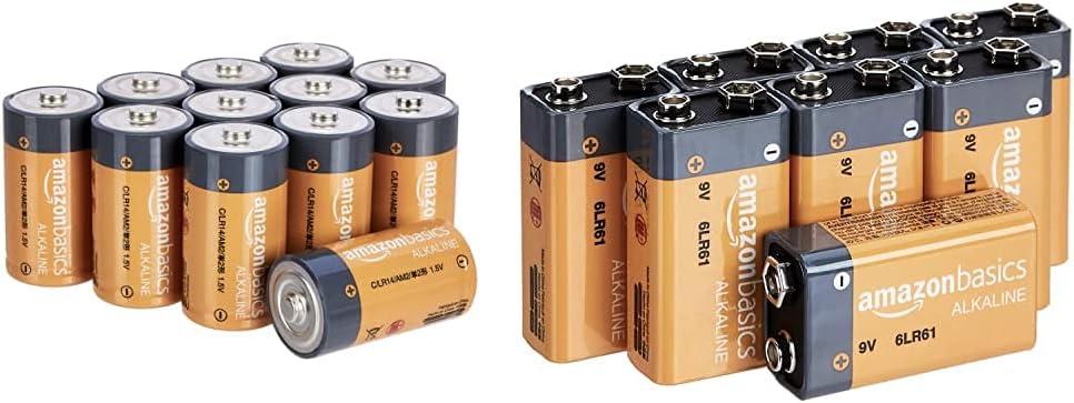 Amazon Basics Alkaline Batteries 6LR61-8PK Direct sale of manufacturer C B 9V 8pk Our shop most popular