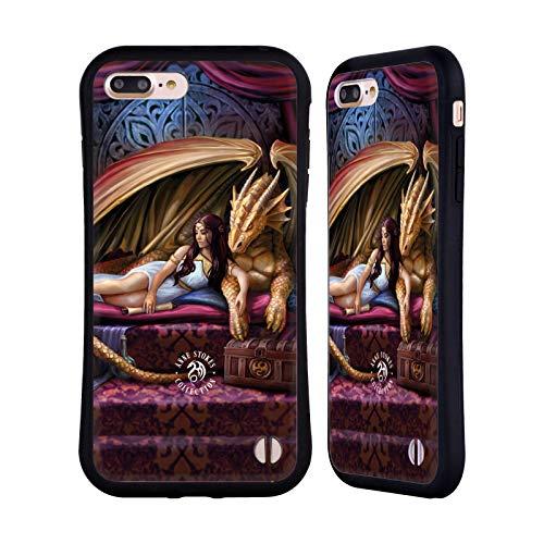 Head Case Designs Ufficiale Anne Stokes Inner Sanctum Draghi 5 Cover Ibrida Compatibile con Apple iPhone 7 Plus/iPhone 8 Plus