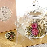 プチギフト 大量 ばら撒き 女性 人気 工芸茶 3個入り 選べるパステルバッグ お茶 詰め合わせ セット (ピーチ)