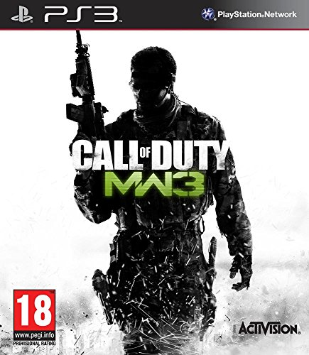 Manette PS3 Dual Shock 3 - noire + Call of Duty Modern Warfare 3