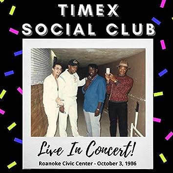 Live In Concert! Roanoke Civic Center (October 3, 1986)