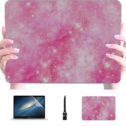 Macbook Pro Estuche de 13 Pulgadas Starry Galaxy Universe Carcasa rígida de plástico Compatible con Mac Air 13'Pro 13' / 16'Estuche Protector para Mac Book Funda Protectora para Macbook 2016-2020 V