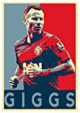 Instabuy Poster Manchester United Propaganda Giggs - A3