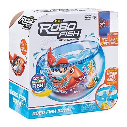 ROBO ALIVE- Robo Fish con Acquario, 7126