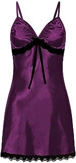 Lingerie babydoll - purple color - for women
