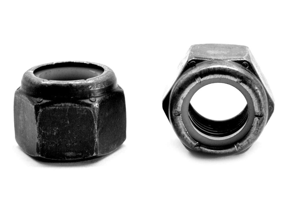 UNF Nylon Insert Nuts 5 x 1//4UNF 5//16UNF /& 3//8UNF Zinc Plated