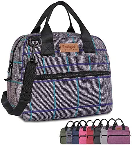 Buringer Insulated Lunch Bag Box Cooler Totes Handbag with Pockets and Removable Adjustable product image