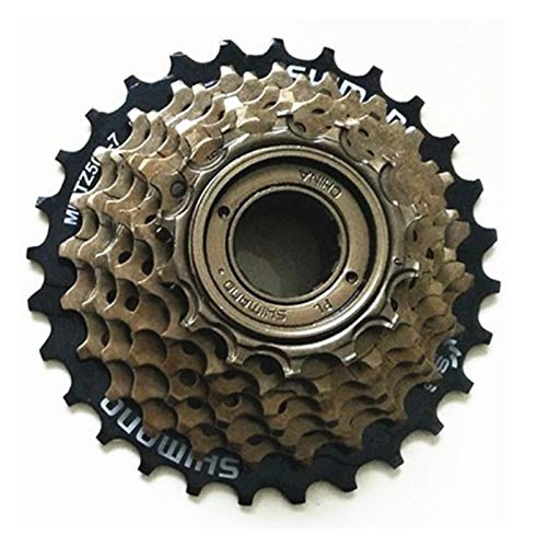 HGYGY Rueda Dentada, Adecuada para la Rueda Dentada MF-TZ500, Volante de 7 velocidades, Adecuado para Bicicletas, Bicicletas eléctricas