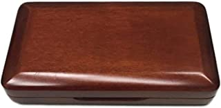 Liyafy Maroon Oboe Reed Case Storage Holds 3 Oboe Reeds Against Moisture and Easy to Carry