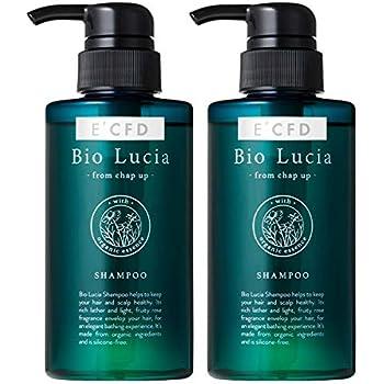 [Amazon限定ブランド] ビオルチア (Bio Lucia) シャンプー2本 (スカルプケア・ノンシリコン・オーガニック・アミノ酸系) 2本 E'CFD