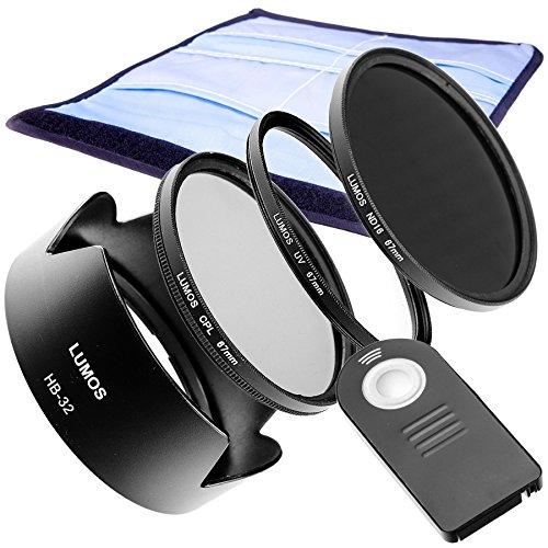 LUMOS Juego de accesorios Compatible con Nikon DSLR y kit Objetivo ...