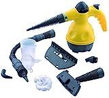 Euronovità Pulitore portatile macchina pulitrice a vapore elettrica con 9 accessori inclusi ,potenza 1050W
