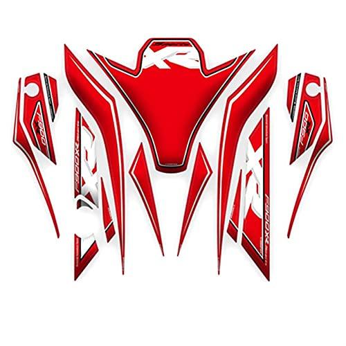 Pegatina protector del tanque de gas, Para B-M-W F900XR F 900 XR 2020 Frente de motocicleta 3D Pegatina de cares de carne de carne de la placa de combustible Tarjeta de combustible Calcomanías Protecc
