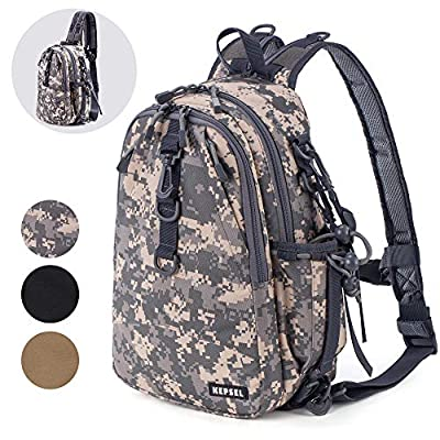 KEPSEL Tactical Backpacks Molle Hiking daypacks for Camping Hiking Fishing Military Traveling