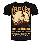 The Eagles Hotel California Tour T-Shirt (Negro)